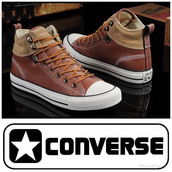 a7725b93a1ac Converse Other - CONVERSE Men s Chuck Taylor All Star Leather Suede